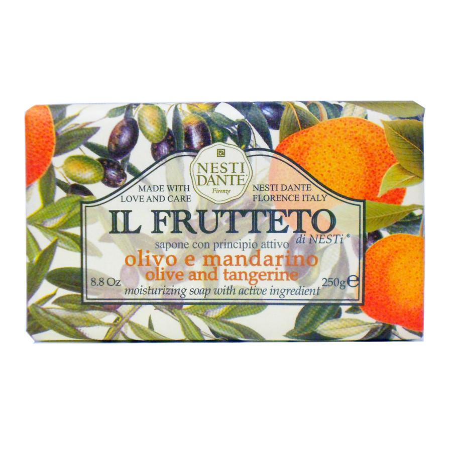 Dárkové mýdlo- Olivový olej a mandarinka 250g