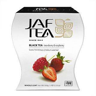 JAFTEA Black Strawberry & Raspberry papír 100g