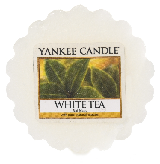 YANKEE CANDLE vosk - WHITE TEA 22g
