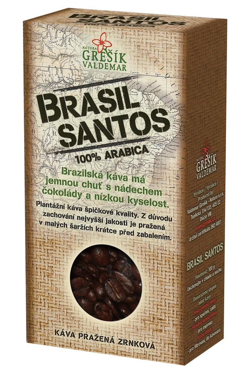 Káva Brasil Santos 100g