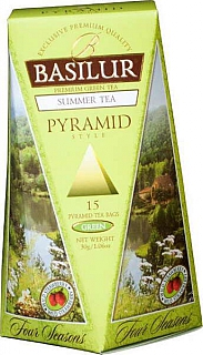 BASILUR Four Season Summer Pyramid 15x2g