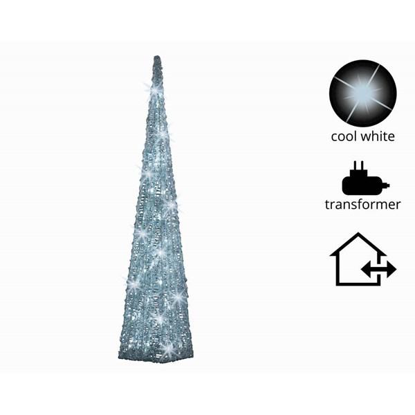 Vánoční světelná pyramida 90cm
