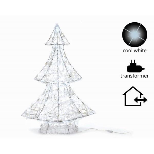 Vánoční svítící stromeček 60cm