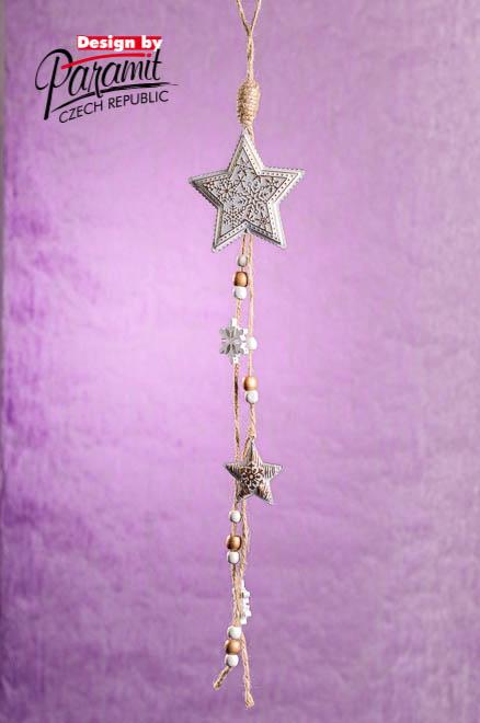 Dekorace 5162 závěsná hvězdička