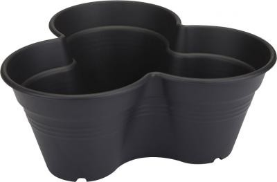 Elho green basics growset, living black, 26 cm