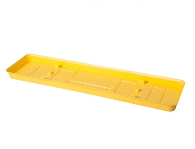Podmiska pod truhlík VERBENA 50cm žlutá