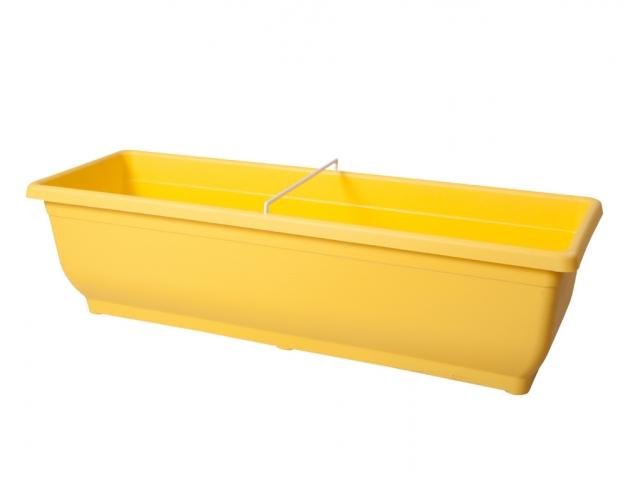 Truhlík VERBENA 50cm žlutý