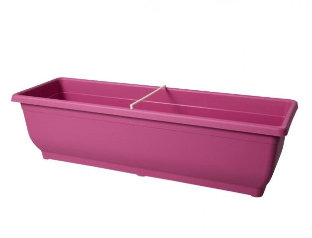 Truhlík VERBENA 50cm růžový