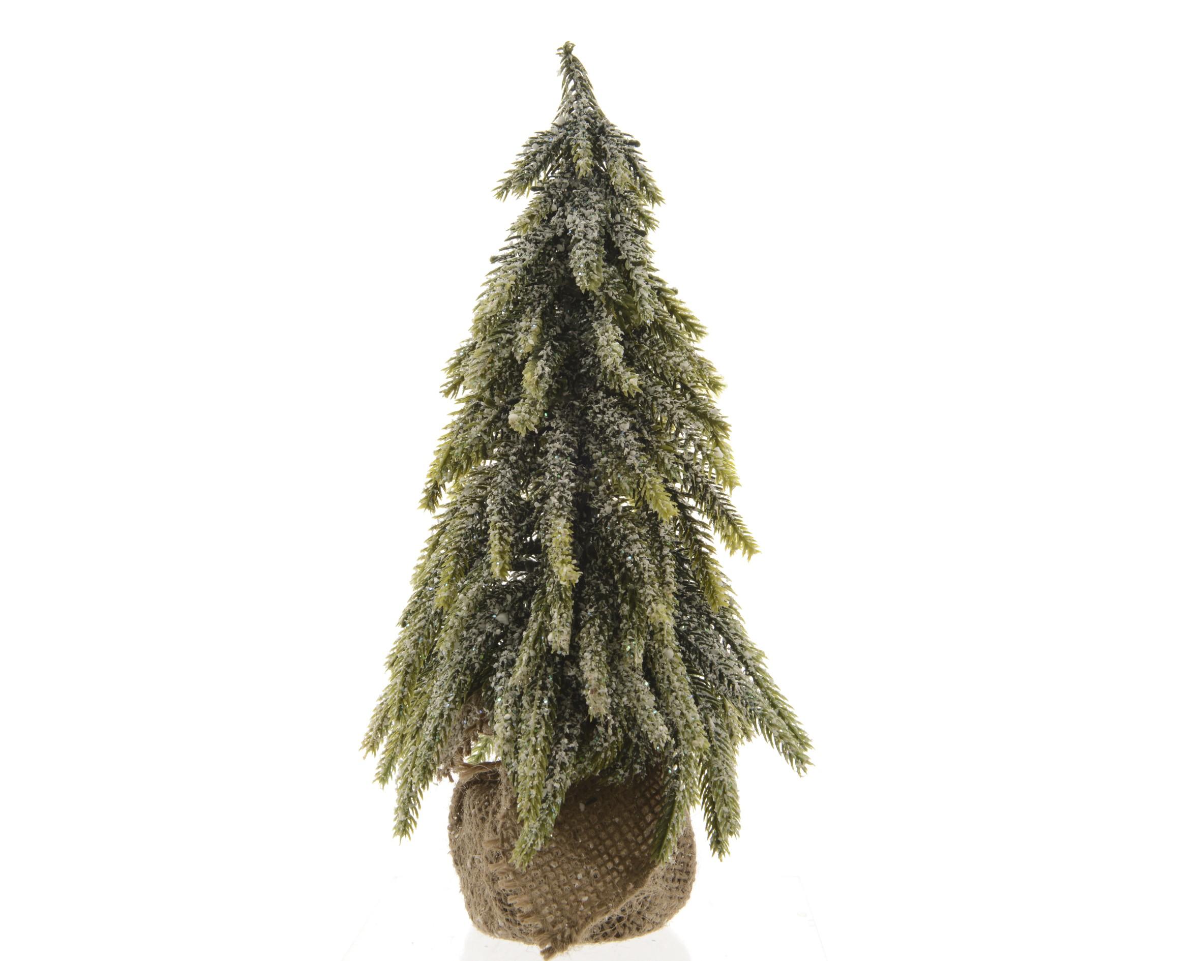 Stromek zasněžený 27cm