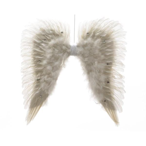 Andělská křídla bílá