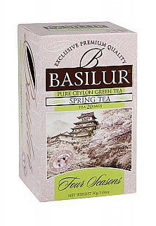 BASILUR Four Season Spring Tea přebal 20x1,5g