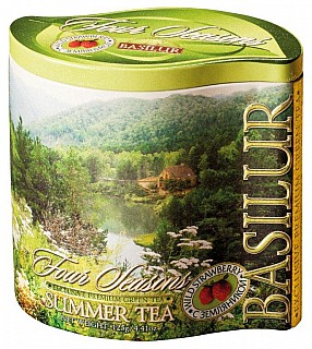 BASILUR Four Season Summer Tea plech 125g