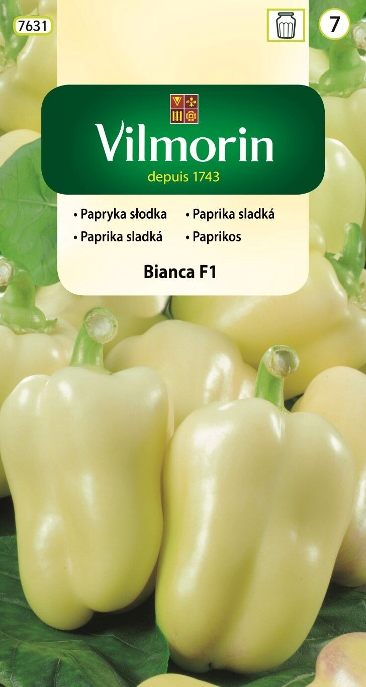 Paprika sladká Bianca F1