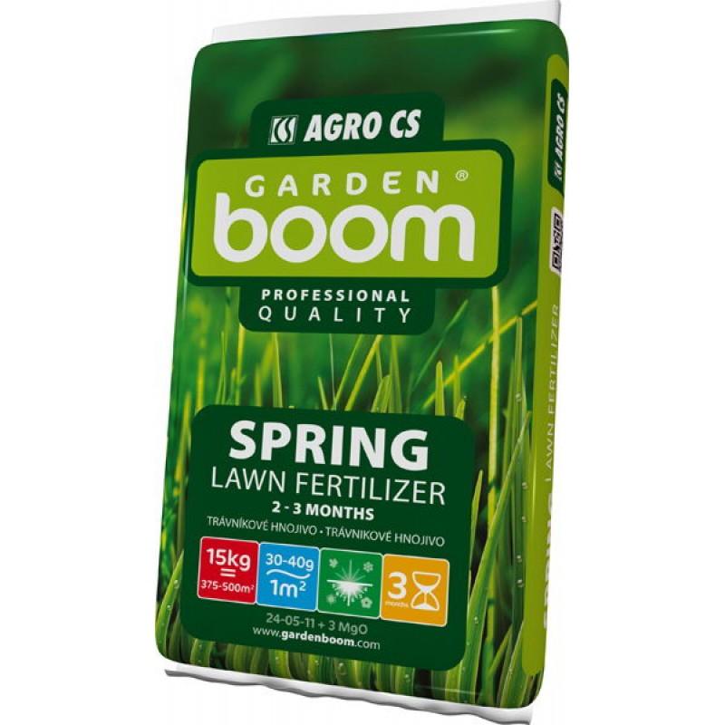 Trávníkové hnojivo Garden Boom Spring 15kg