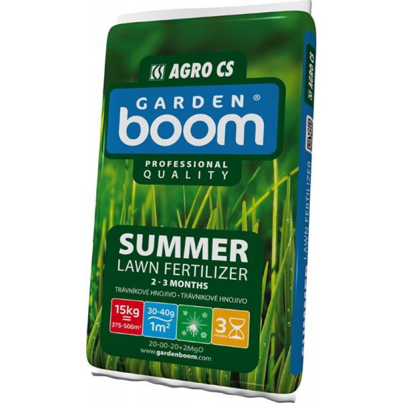 Trávníkové hnojivo Garden Boom Summer 15kg