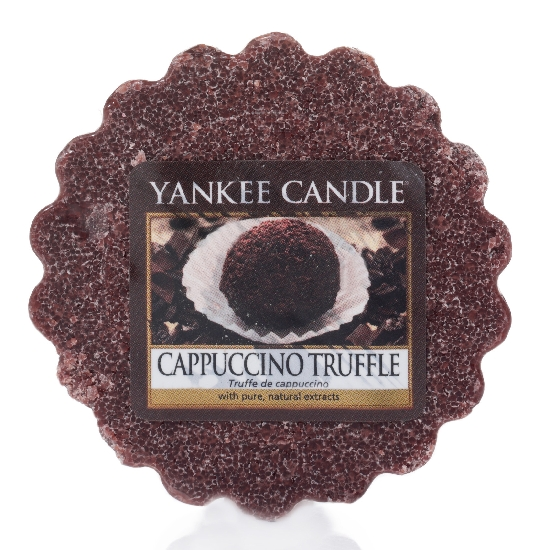 YANKEE CANDLE vosk - Cappuccino truffle 22g