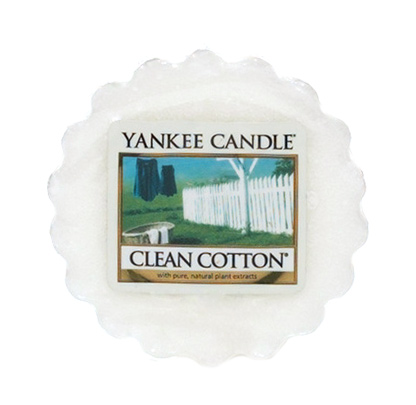 YANKEE CANDLE vosk - Clean Cotton 22g