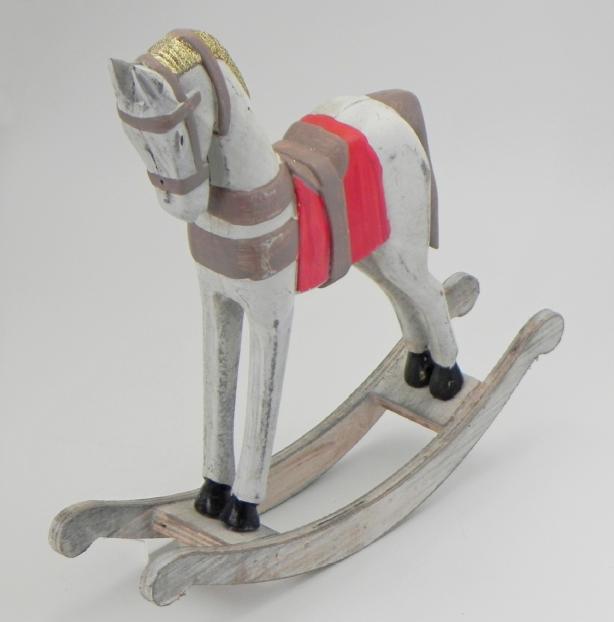 Koník houpací dřevo