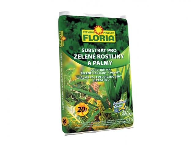 FLORIA Sub. pro zelené rostliny 20 l