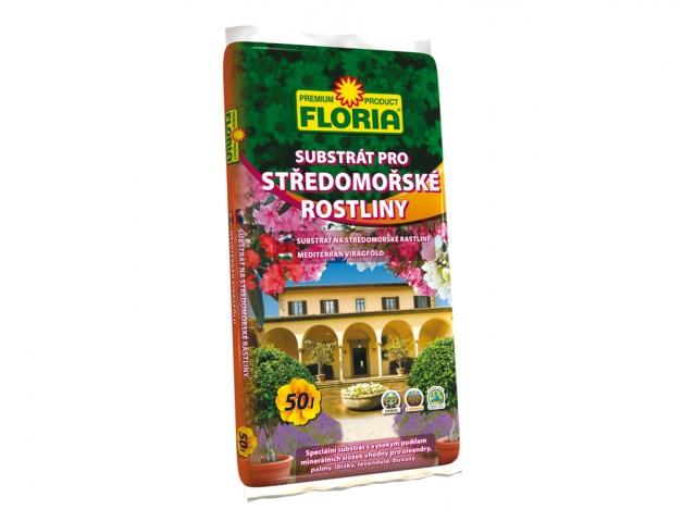 FLORIA substrát pro středomořské rostliny 50 l