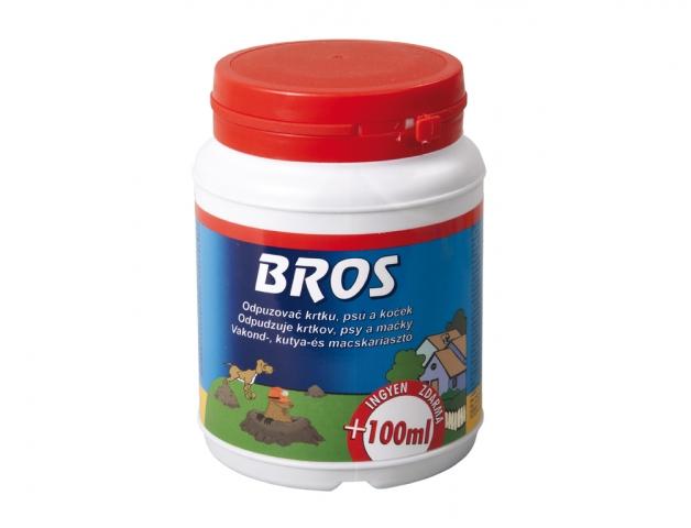 BROS-odpuzovač krtků,psů a koček 350ml +100ml ZDARMA GL