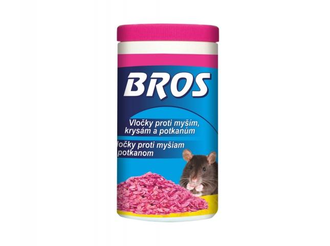 BROS-obilné vločky na myši,krysy a potkany dóza 250g