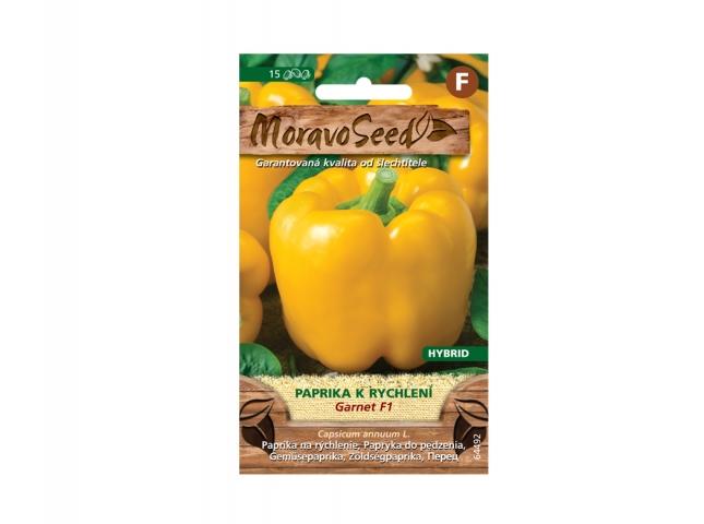 Paprika zeleninová raná GARNET F1 k rychlení žlutá