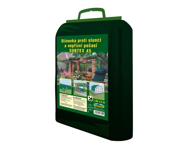 Stínovka PE 1,56x5m 45% zelená GL