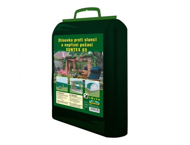 Stínovka PE 1,56x5m 65% zelená