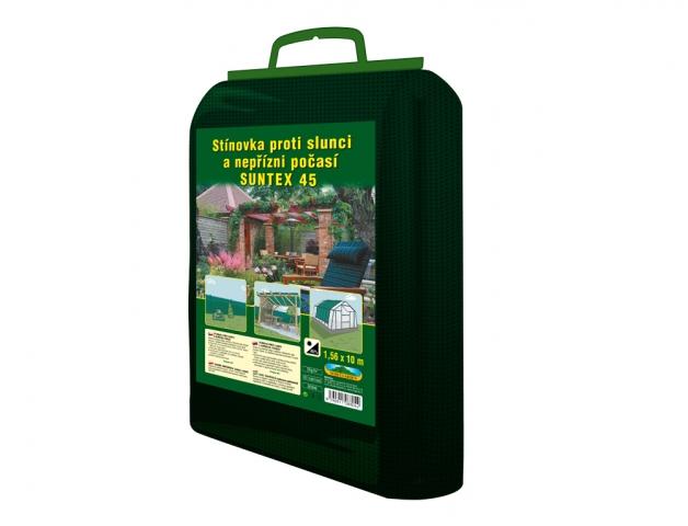 Stínovka PE 1,56x10m 45% zelená GL