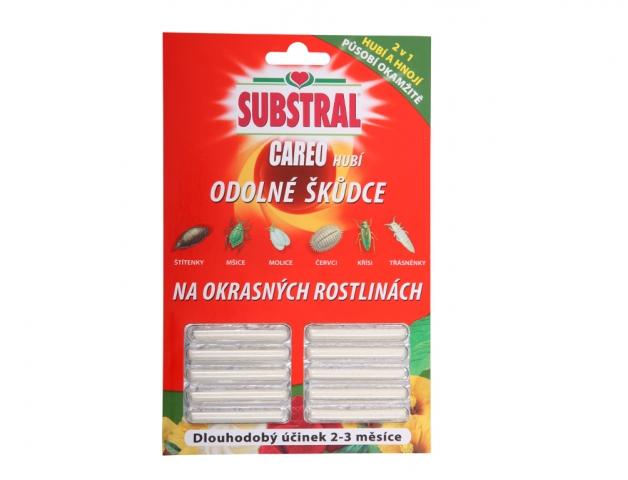 Substral CAREO - tyčinky proti škůdcům 10ks GL