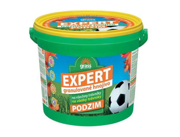 Podzimní trávníkové hnojivo EXPERT 5kg kbelík