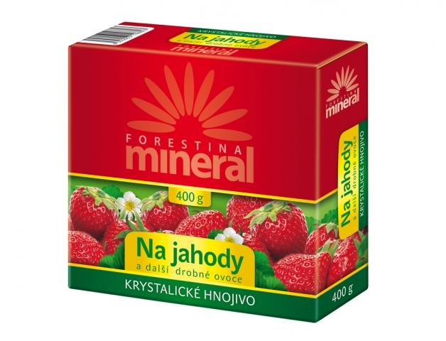Hnojivo Forestina Krystalické na jahody a jiné drobné ovoce 400g