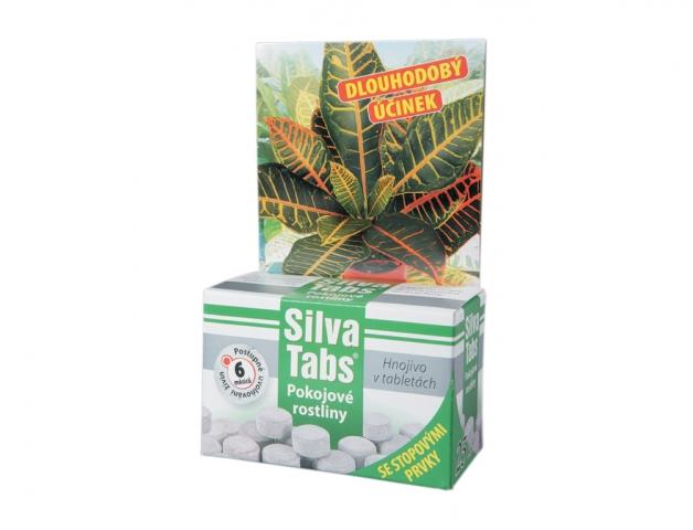 SILVA TABS Pokojové rostliny 250g