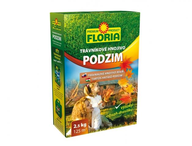 FLORIA Podzimní trávník.hnojivo 2,5 kg