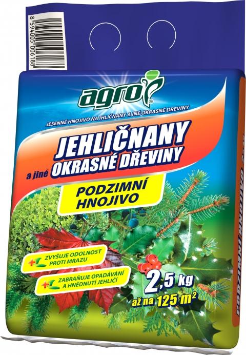 AGRO Podzimní hn. pro jehličnany 2,5kg
