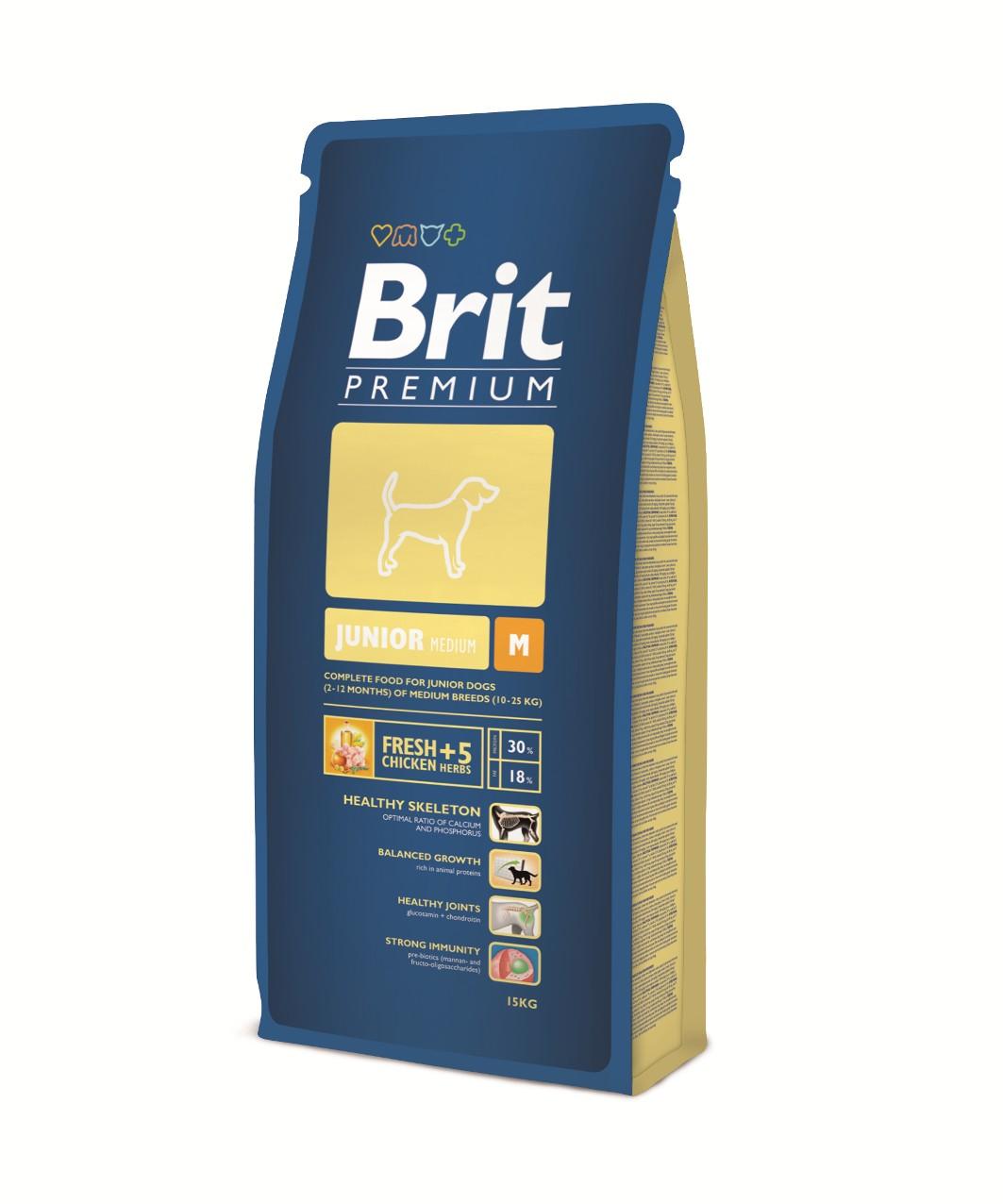 Brit-Premium Junior -M- 3kg