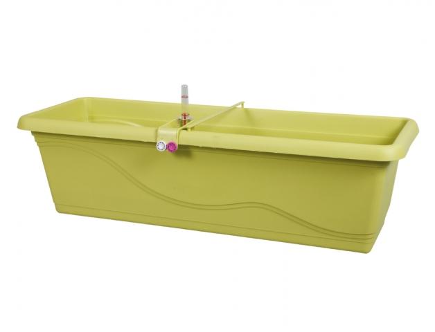 Truhlík samozavlažovací EXTRA LINE SMART 80cm zelený