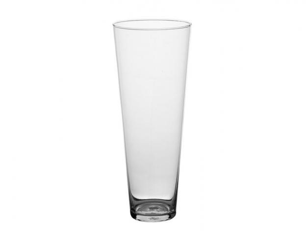 Skleněná váza KONUS d15x30h