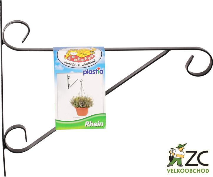 Držák na záv.květináč - kovový Rhein 30cm