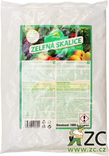 Skalice zelená 1kg ZC