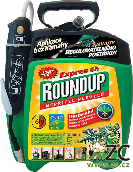 Roundup Expres - 5l rozprašovač