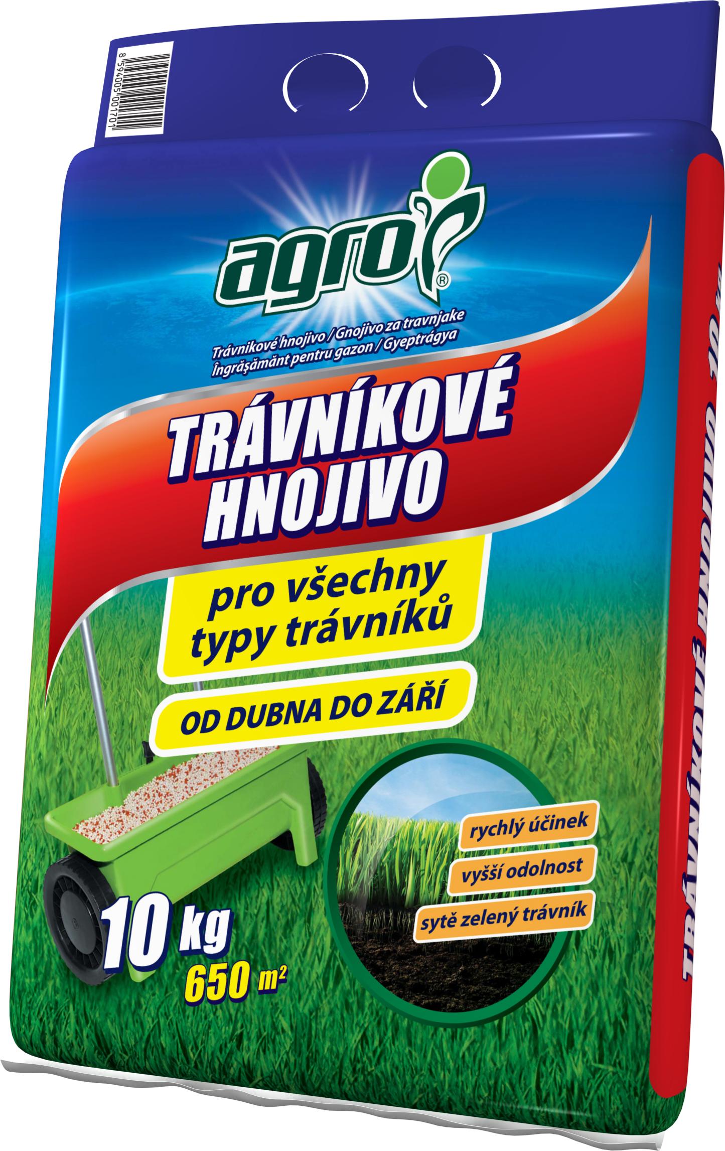 AGRO Trávníkové hn. pytel 10 kg