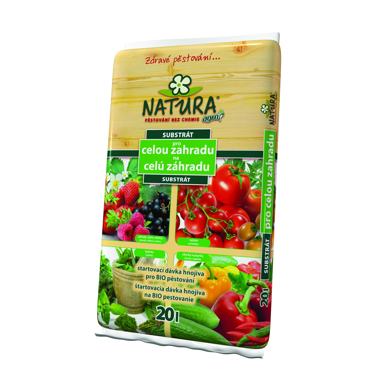 NATURA Univerzální substrát pro celou zahradu 20 l