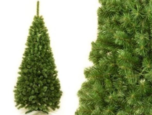 Jedle úzká umělá vánoční 120cm