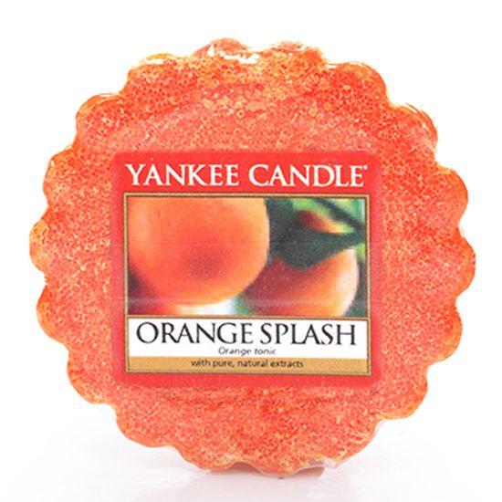 YANKEE CANDLE vosk - ORANGE SPLASH 22g