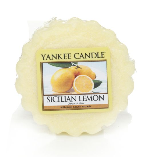 YANKEE CANDLE vosk - Sicilian Lemon 22g