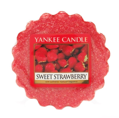 YANKEE CANDLE vosk - Sweet Strawberry 22g