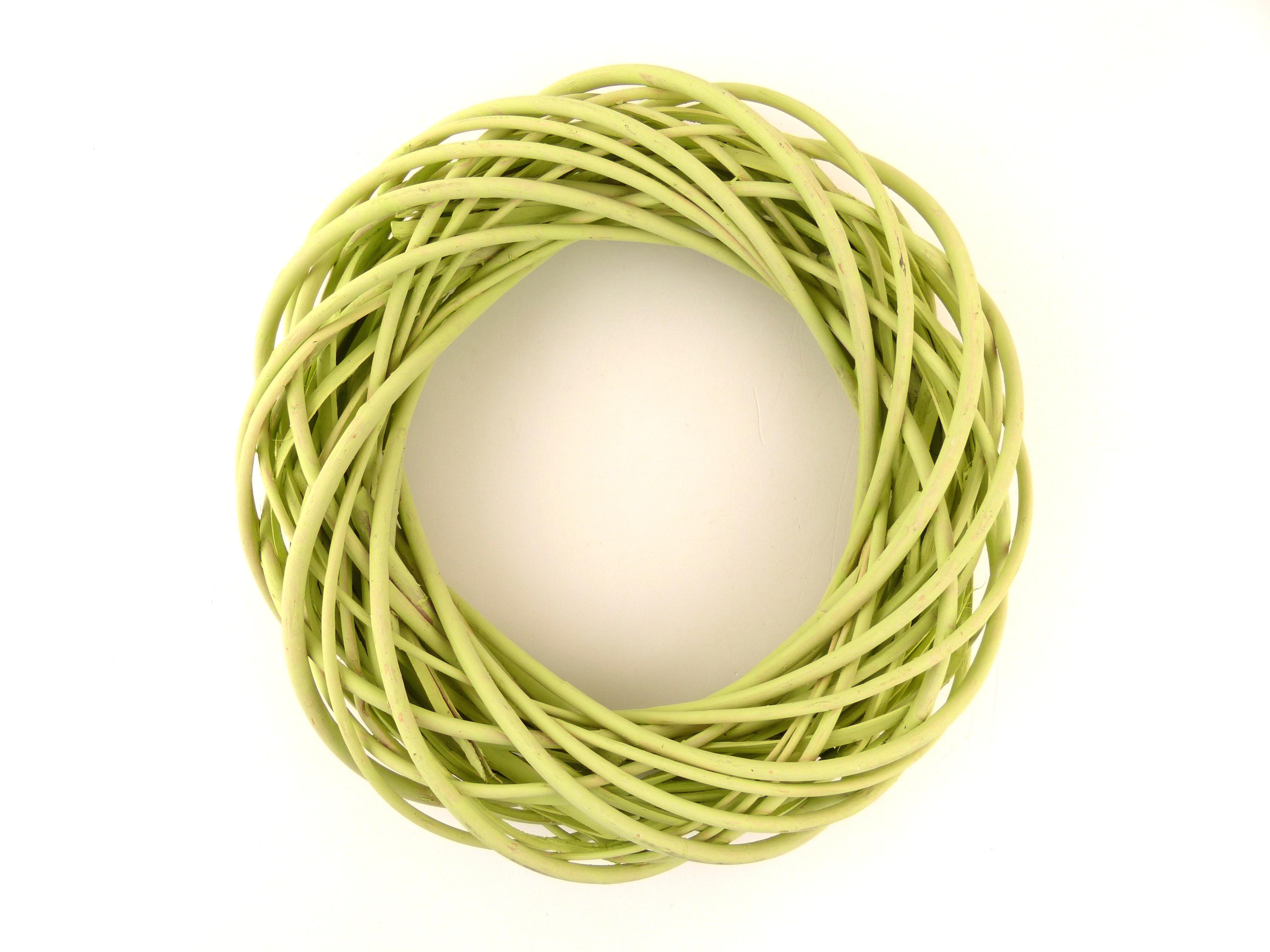 Věnec zelený 40cm