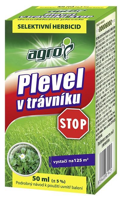 Plevel v trávníku STOP 50 ml